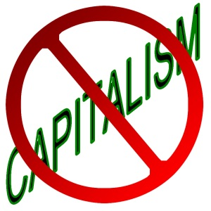 Deflation punishes investment and property ownership, attacking capitalism at its roots