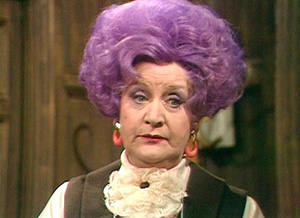 "Eccentric sitcom character Mrs. Slocombe used to emphasize a decision by saying ""and I am unanimous in that!"""