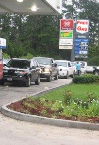 Next step: Rationing of gasoline