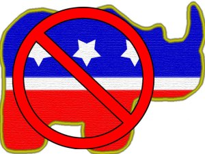 No RiNOs (Republicans in Name Only)